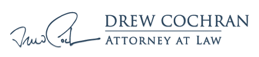 Drew Cochran, Attorney at Law Retina Logo